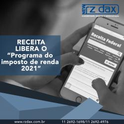 """Receita Libera O """"PROGRAMA DE IMPOSTO DE RENDA"""""""
