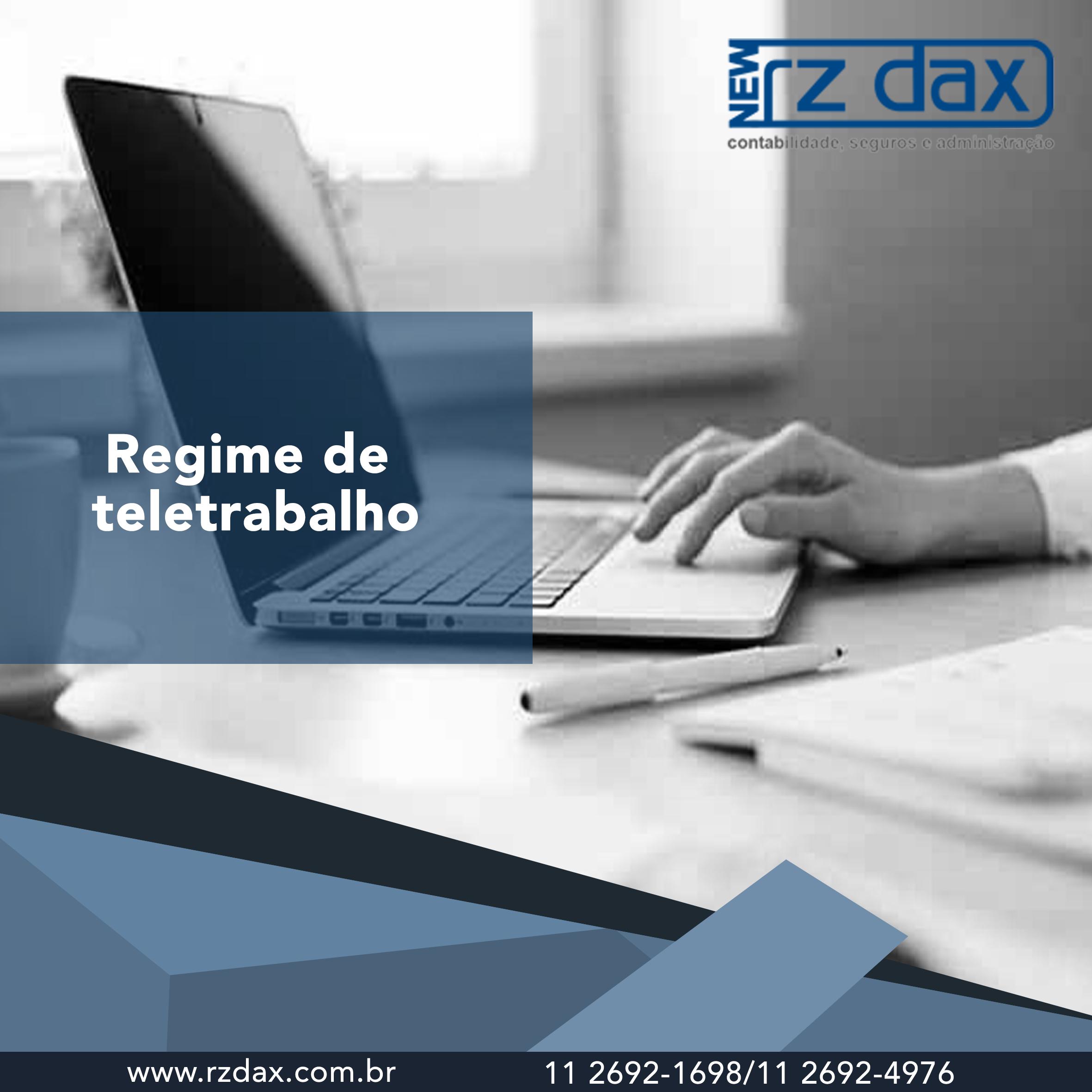 REGIME DE TELETRABALHO