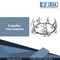 TRABALHO INTERMITENTE